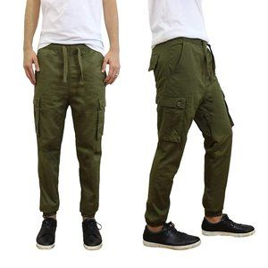 GALAXY BY HARVIC Cargo Twill Jogger 450 size M